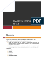 Microsoft Power Point - Placenta e Membranas Fetais