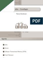 Akka - Grundlagen (Verteilte Systeme 2010)