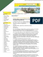 Prefeitura Sao Luis Plano Diretor_Lei 4669_2006_Plano Diretor