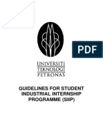 UTP Internship Guidelines 2008 Rev10