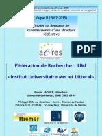 «Institut Universitaire Mer et Littoral»