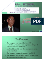 Levinstein Presentation 112007