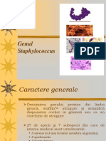 Curs 7 - Genul Staphylococcus