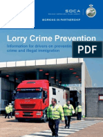 Lorry Crime Prevention Booklet