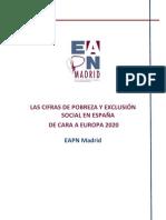LAS CIFRAS DE POBREZA Y EXCLUSIÓN SOCIAL EN ESPAÑA DE CARA A LA ESTRATEGIA EUROPA 2020