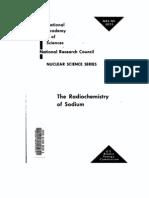 The Radio Chemistry of Sodium.us AEC