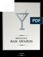 Nominierte der fünften Mixology Bar Awards