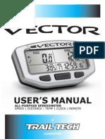 Vector Users Manual 7010-MANUAL