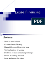 Lease Financing