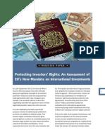 Protecting Investors' Rights