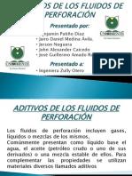 ADITIVOS DE LOS FLUIDOS DE PERFORACIÓN