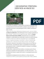 National Geographic Prepara Report a Gem Nos 40 Anos Do Pnpg