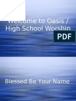 HS Worship 1-7-07