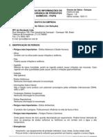 Cloreto de Cálcio Solução- FISPQ008