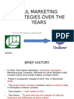 pestel analysis of hindustan unilever hul unilever business hul marketing starategies over the years