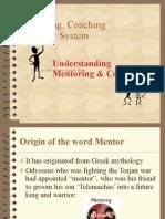 Mentoring, Coaching & Buddying