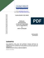 Manual Kanthocril II