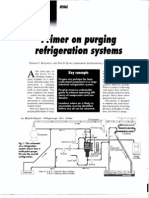 Primer on Purging Refrigerations Systems