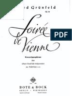 Grünfeld-Strauss-Soireé de Vienne
