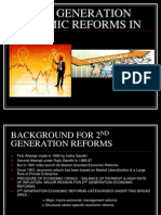 Second Generation Economic Reforms in India