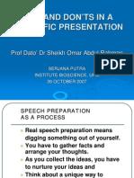 Seminar Prof Sheikh