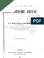 R. P. Coconnier - L'Hypnotisme Franc
