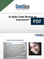 SmartBear Software - Webinar - Is Agile Code Review an Oxymoron