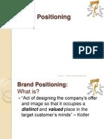 3. Brand Positioning