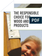 The Responsible Choice For Wood and Paper Products