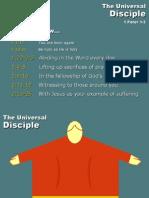 Universal Disciple