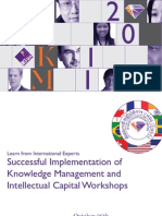 IC and KM International Workshops
