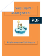 Working Capital Management - By Krishnamachari Srinivasan