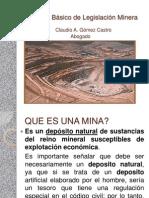 ion Minera, Primera Parte