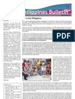 Philippines - Newsletter 1 October 2011