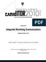31510-Integrated Marketing Communications