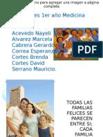 Familia presentación grupal