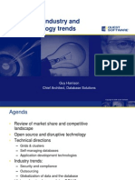 RDBMS Industry and Technology Trends 2007