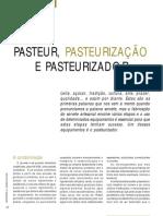 PASTEUR,  PASTEURIZAÇÃO E PASTEURIZADORES - SORVETES