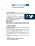 El Rol Del Fiscal en El Proceso Penal Acusatorio