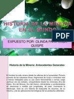 Historia de La Mineria