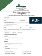Doc. acompanhamento e avaliação socioeconômica para os alunos