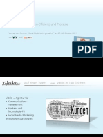 Social Media - Markeneffizienz und Prozesse. Ein Vortrag auf einem Workshop der w&v am 05 10 11