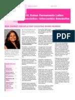 KPLA Q2 April 2011 Newsletter