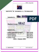 SHAZ Final Report