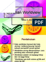 Christian Worldview, 14 Feb
