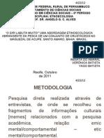 SEMINARIO ETNOECOLOGIA