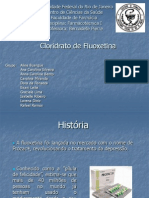 Ppt Final - Cloridrato de Fluoxetina