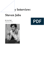 Playboy Interview (1985) With Steve Jobs