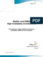 Mysql Replication With Heartbeat and DRBD