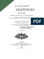 André Pezzani - La Pluralité des existences de l'Âme